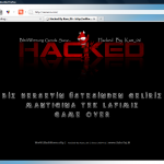 hacked site screenshot